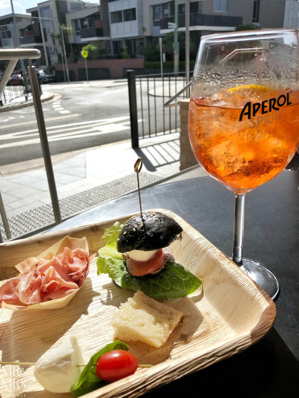 ReccoLab Rozelle aperitivo Aperol spritz