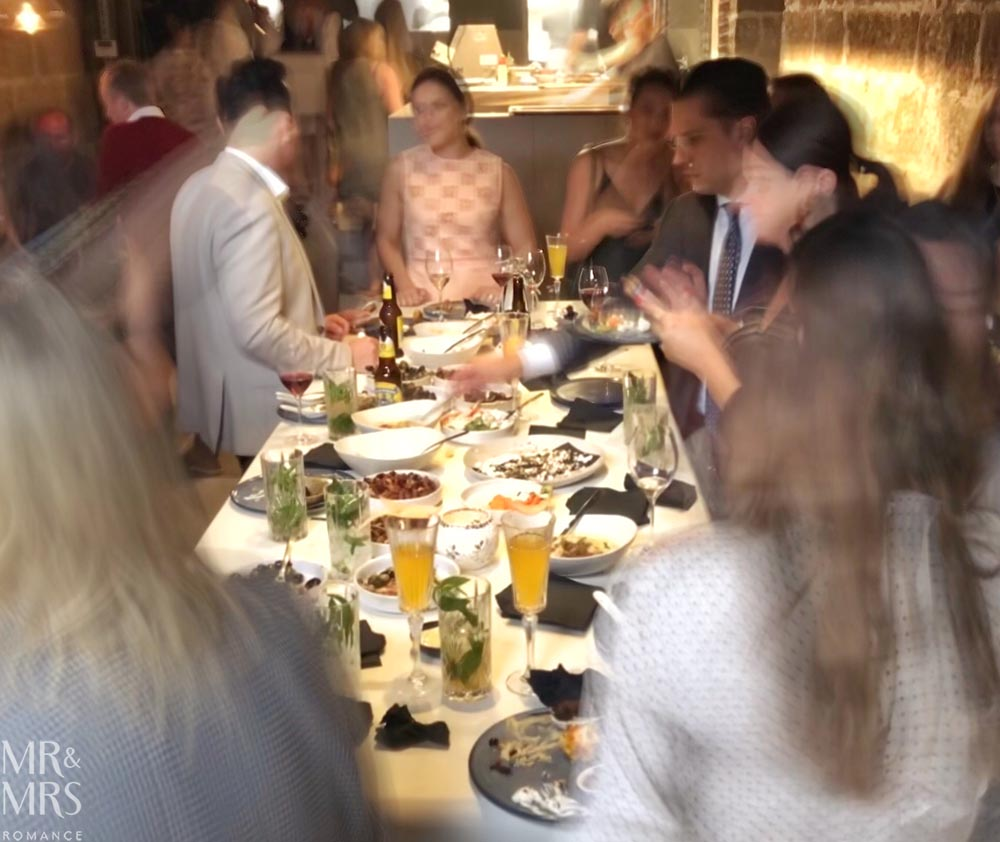 Tayim restaurant Sydney - feeding frenzy