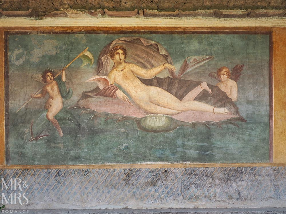 10 things you must see in Pompeii - House of Venus in a Shell