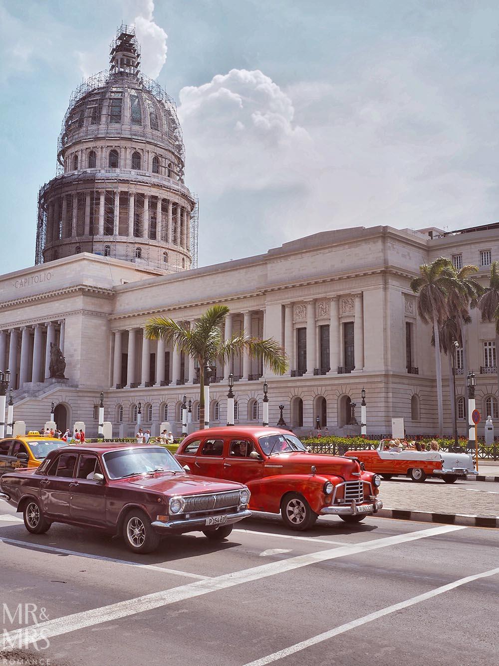 Capitol and cars - Havana Cuba