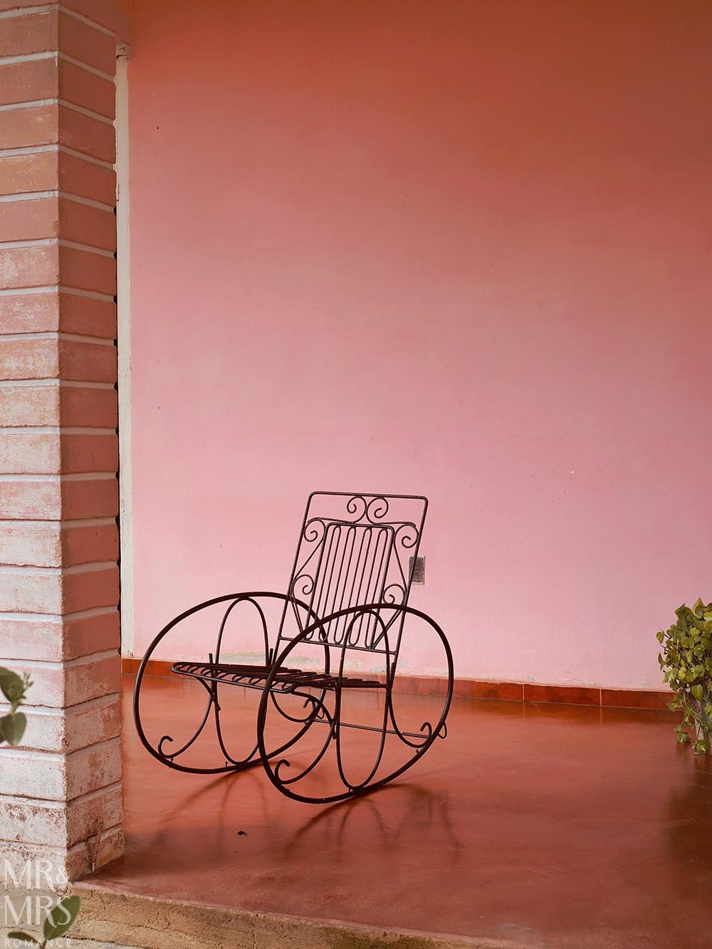 Rocking chair Vinales Cuba