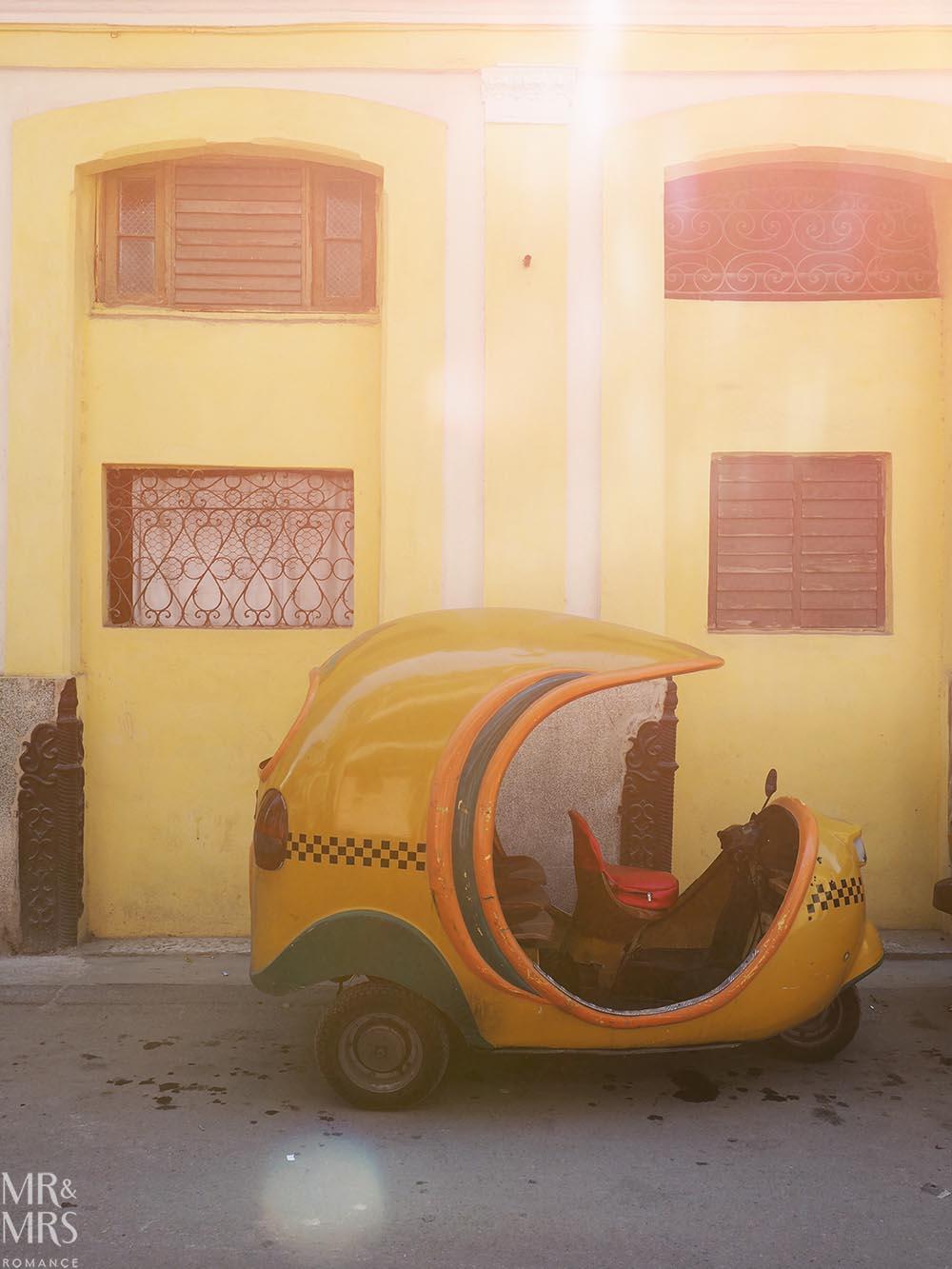 Coco taxi Havana Cuba