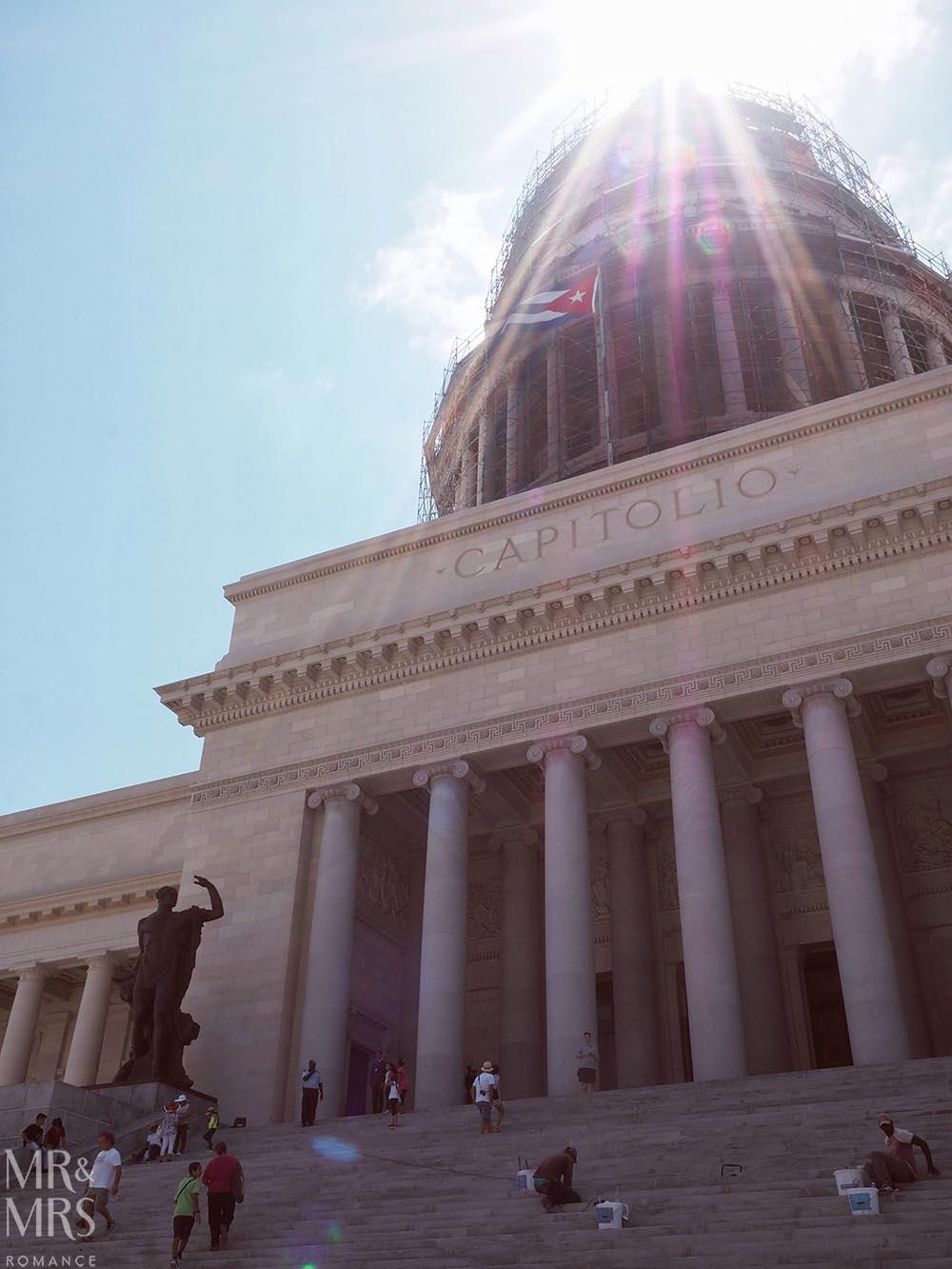 El Capitolio building Havana Cuba