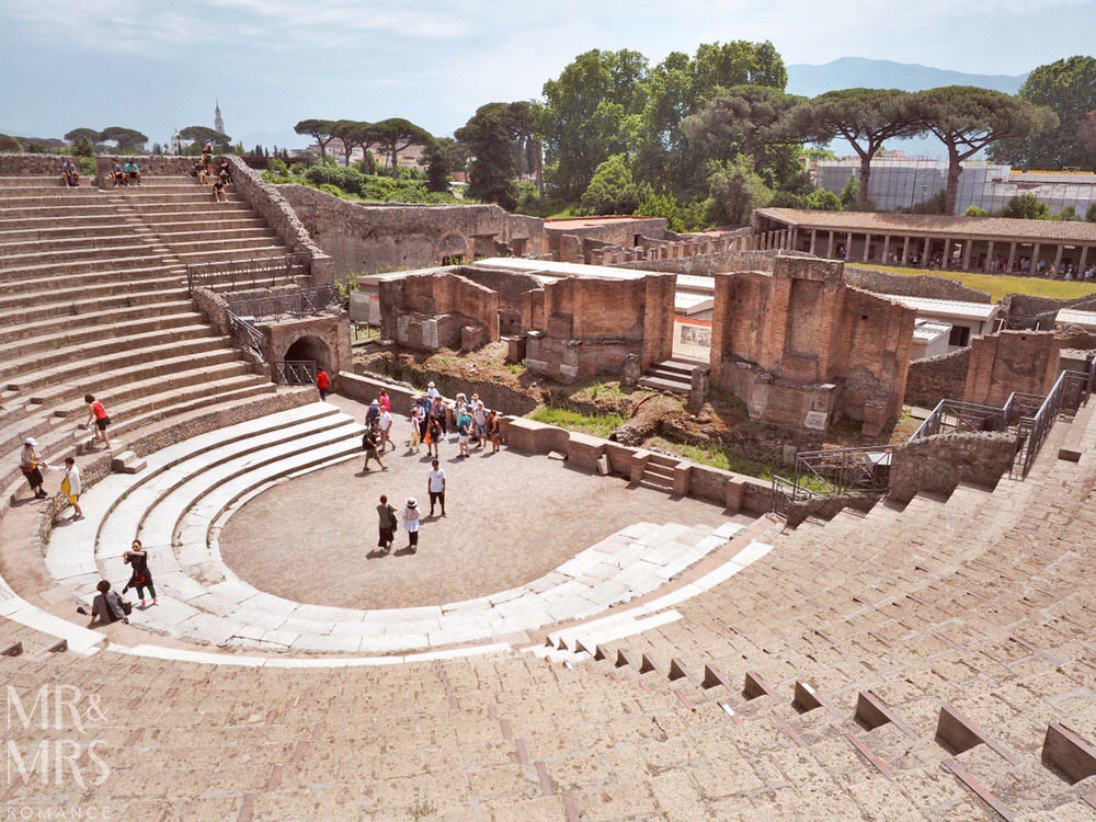 Pompeii DIY tour - how to get the most out of Pompeii - amphitheatre