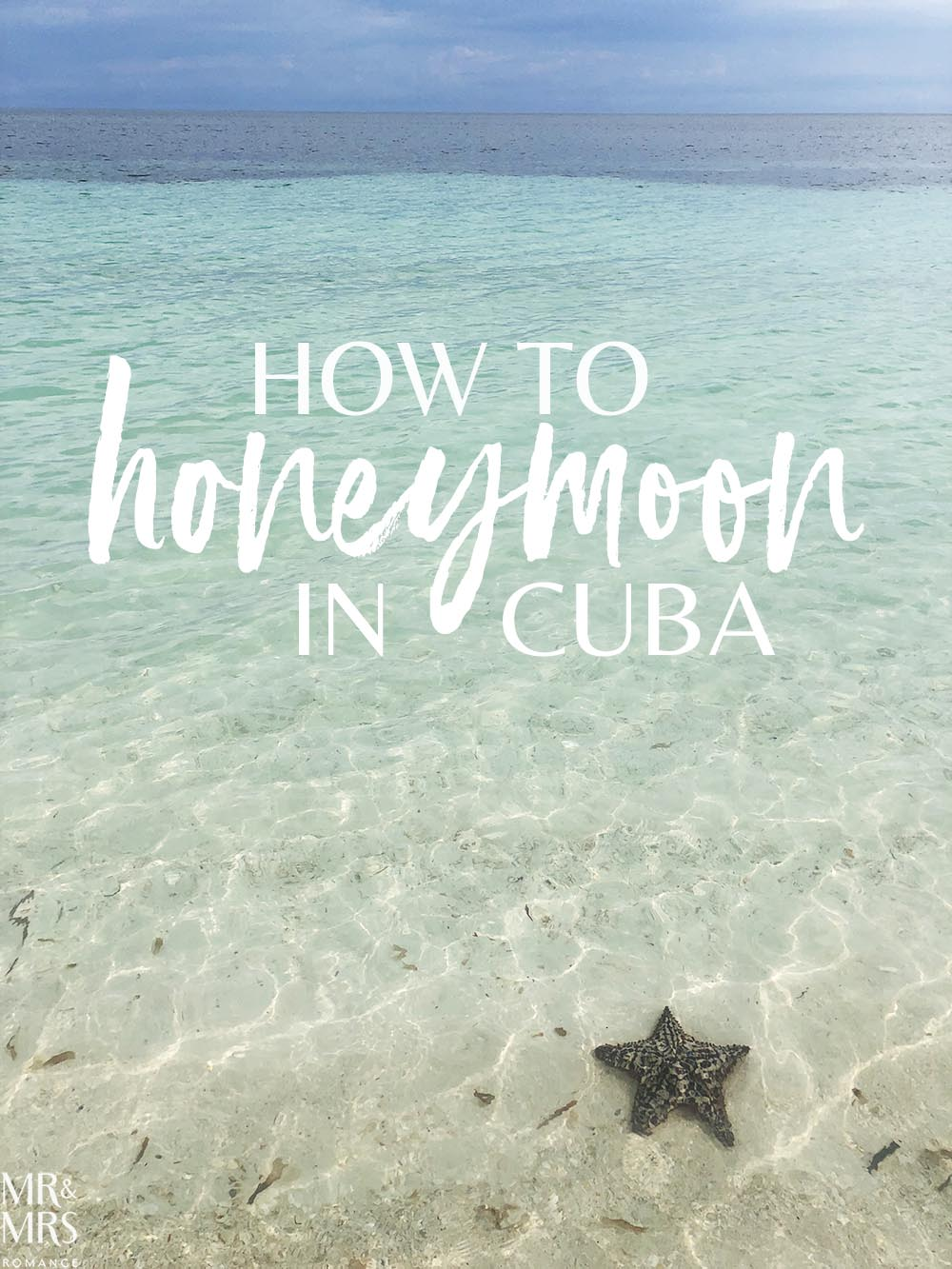 Caribbean honeymoon in Cuba