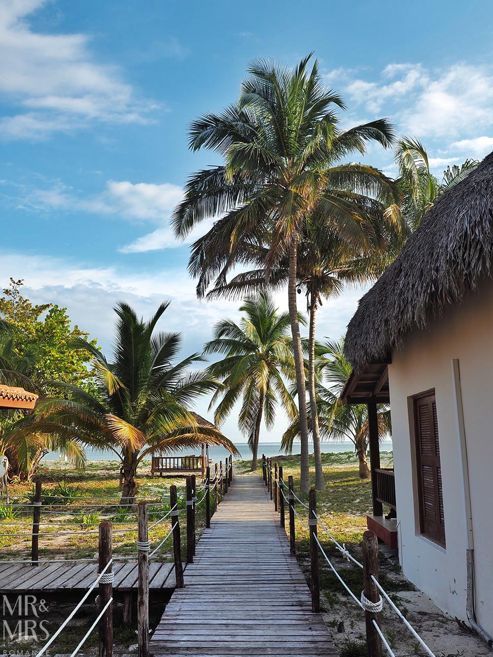 Honeymoon itinerary Cuba - Cayo Levisa