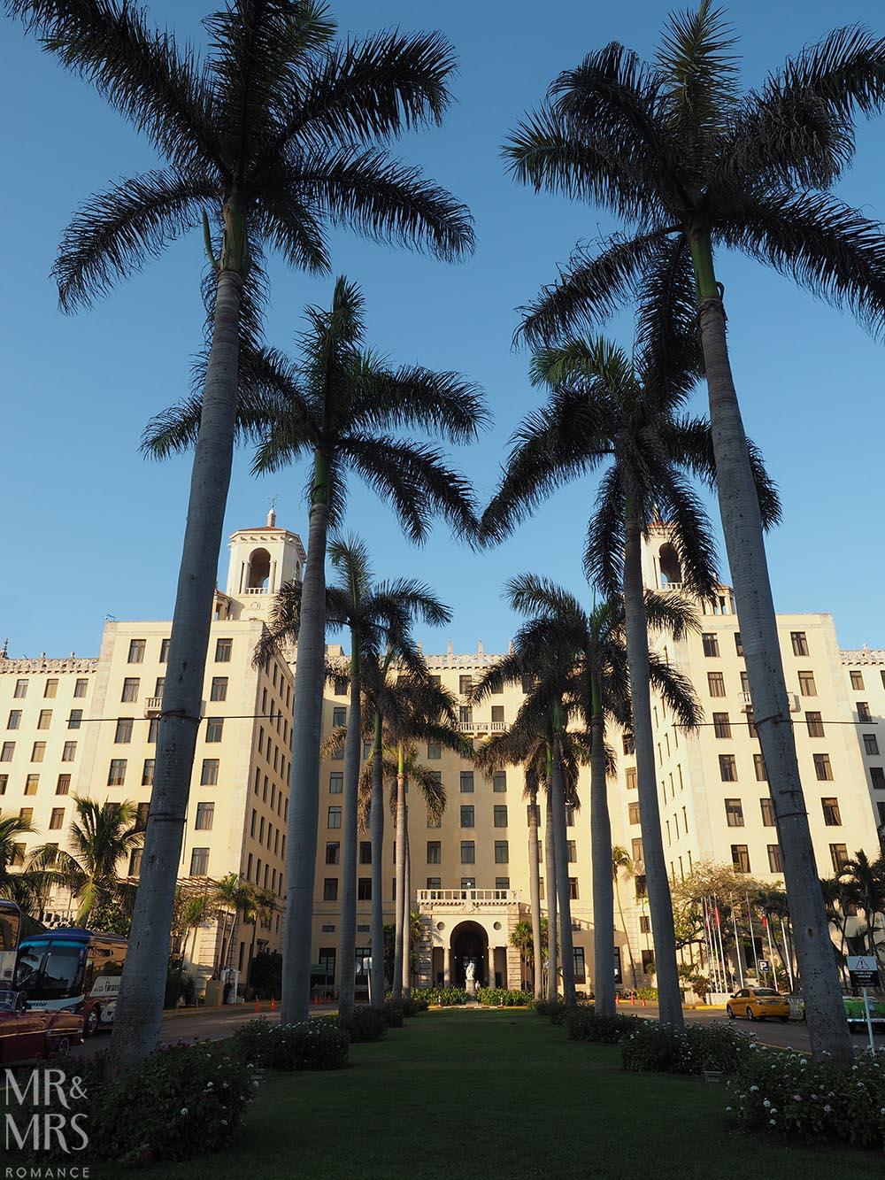 Honeymoon itinerary Cuba - Hotel Nacionale