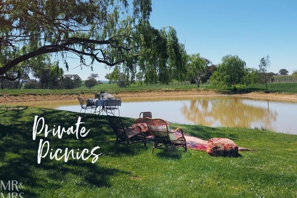 Private picnics - Heifer Station winery Orange, NSW