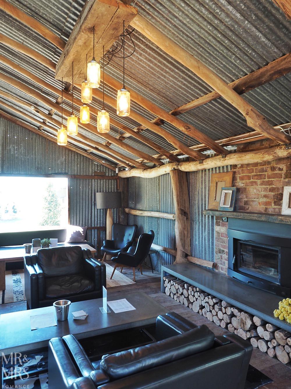 Private picnics - Wool Shed cellar door Heifer Station winery Orange, NSW