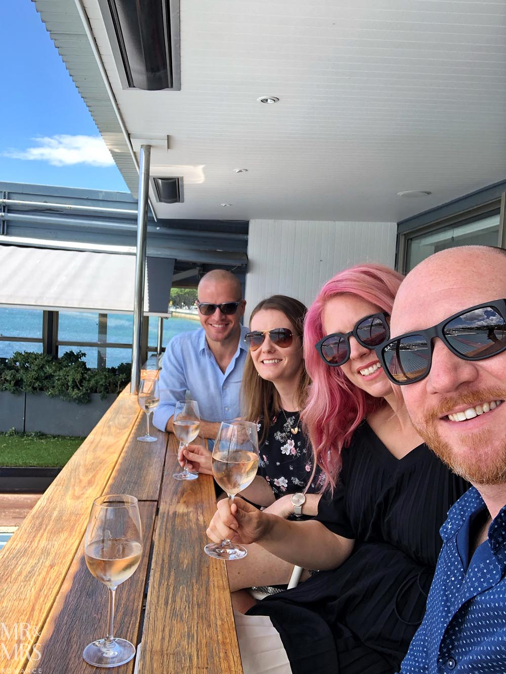 Regatta Rose Bay - Danny, Vicki and us