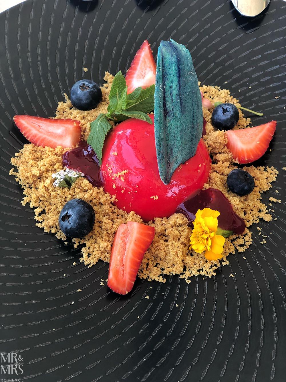 Woolwich Pier Hotel dessert