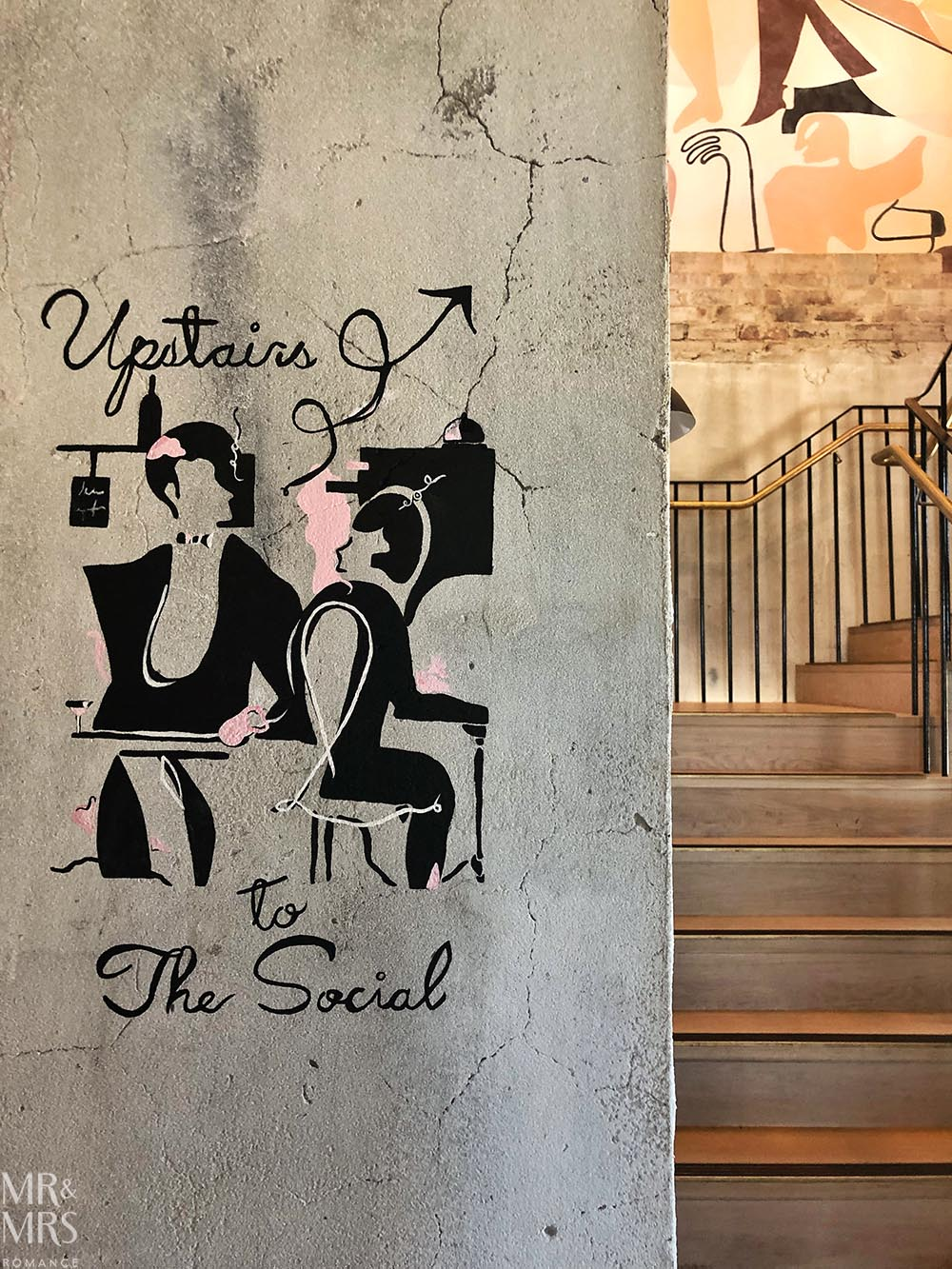 Woolwich Pier Hotel stairs