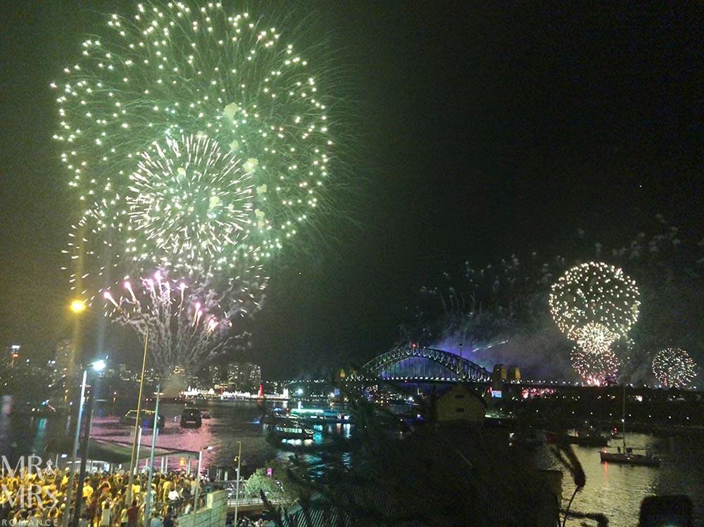 NYE Sydney fireworks
