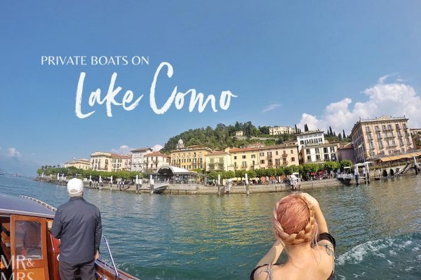 Lake Como private boat tour