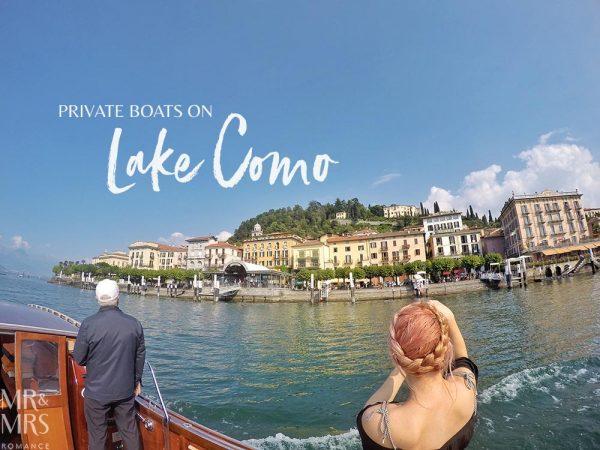 Lake Como private boat tour