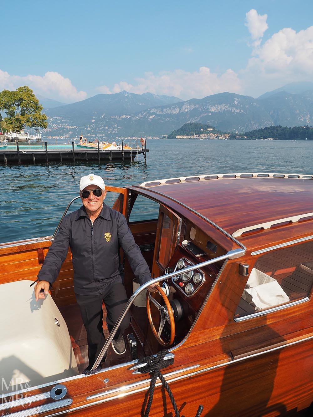 Lake Como private boat tour - Ruy - Grand Hotel Tremezzo