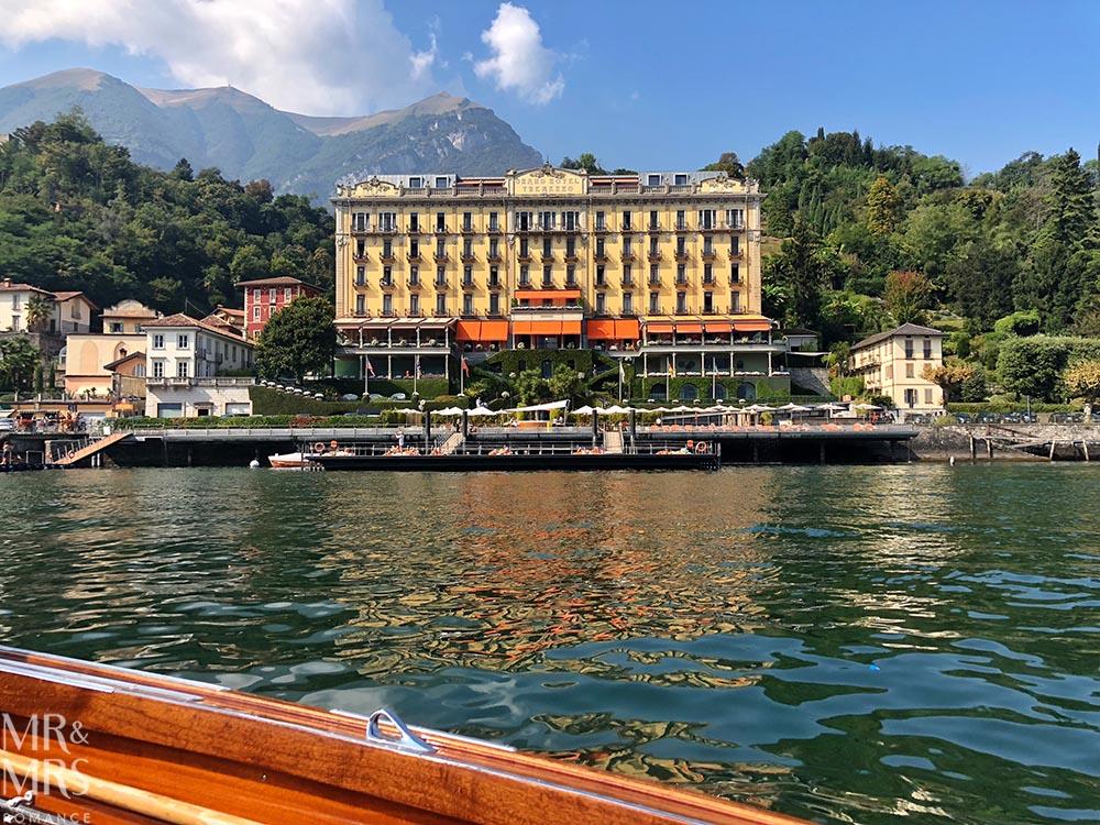 Lake Como private boat tour - Grand Hotel Tremezzo