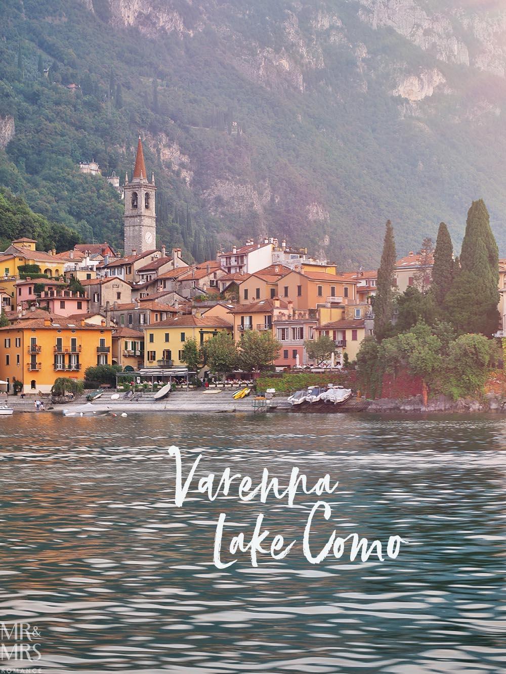 Lake Como private boat tour - Varenna