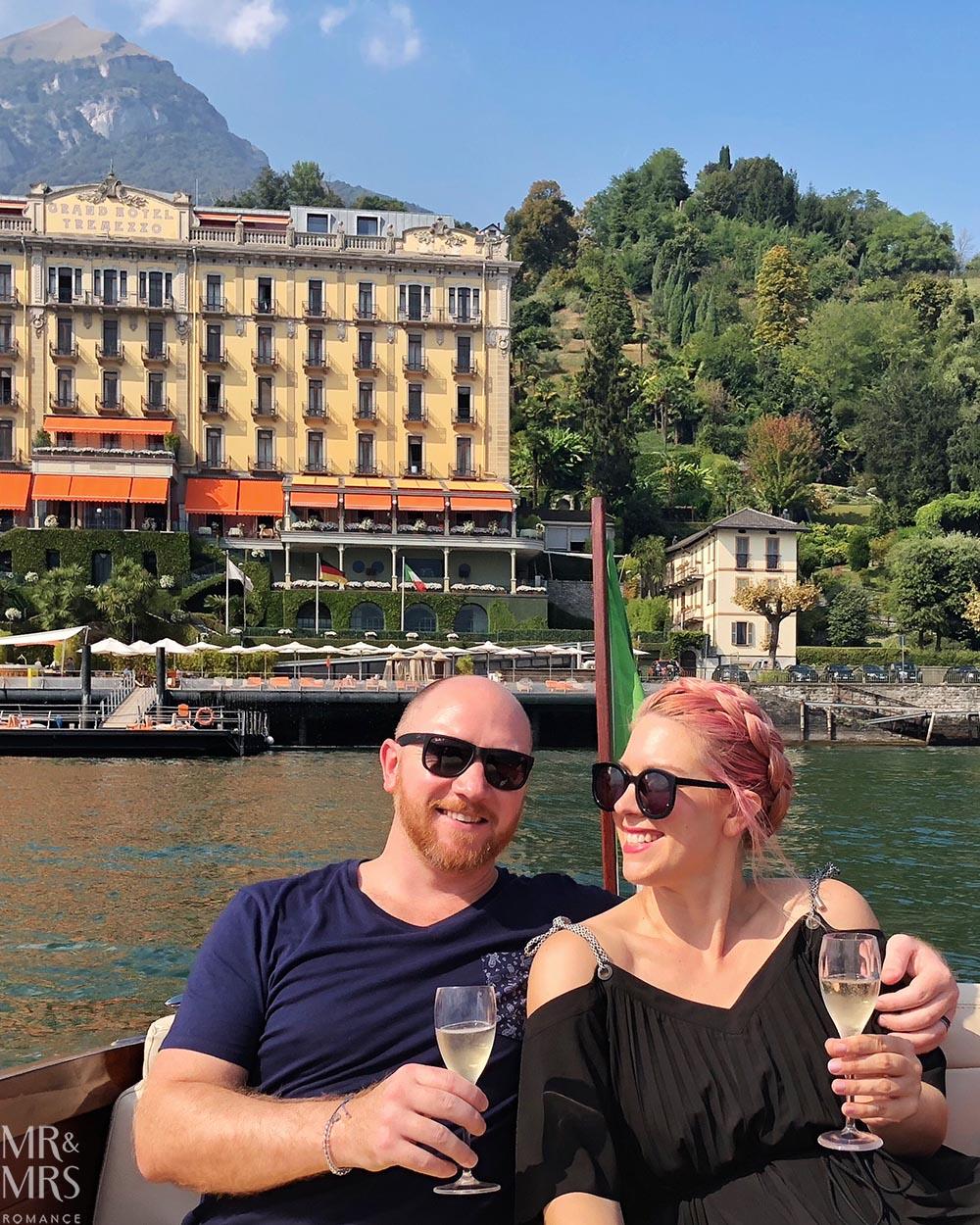 Lake Como private boat tour - us