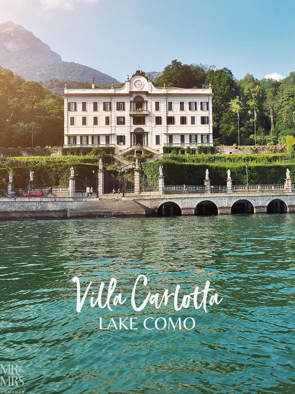 Lake Como private boat tour - Villa Carlotta