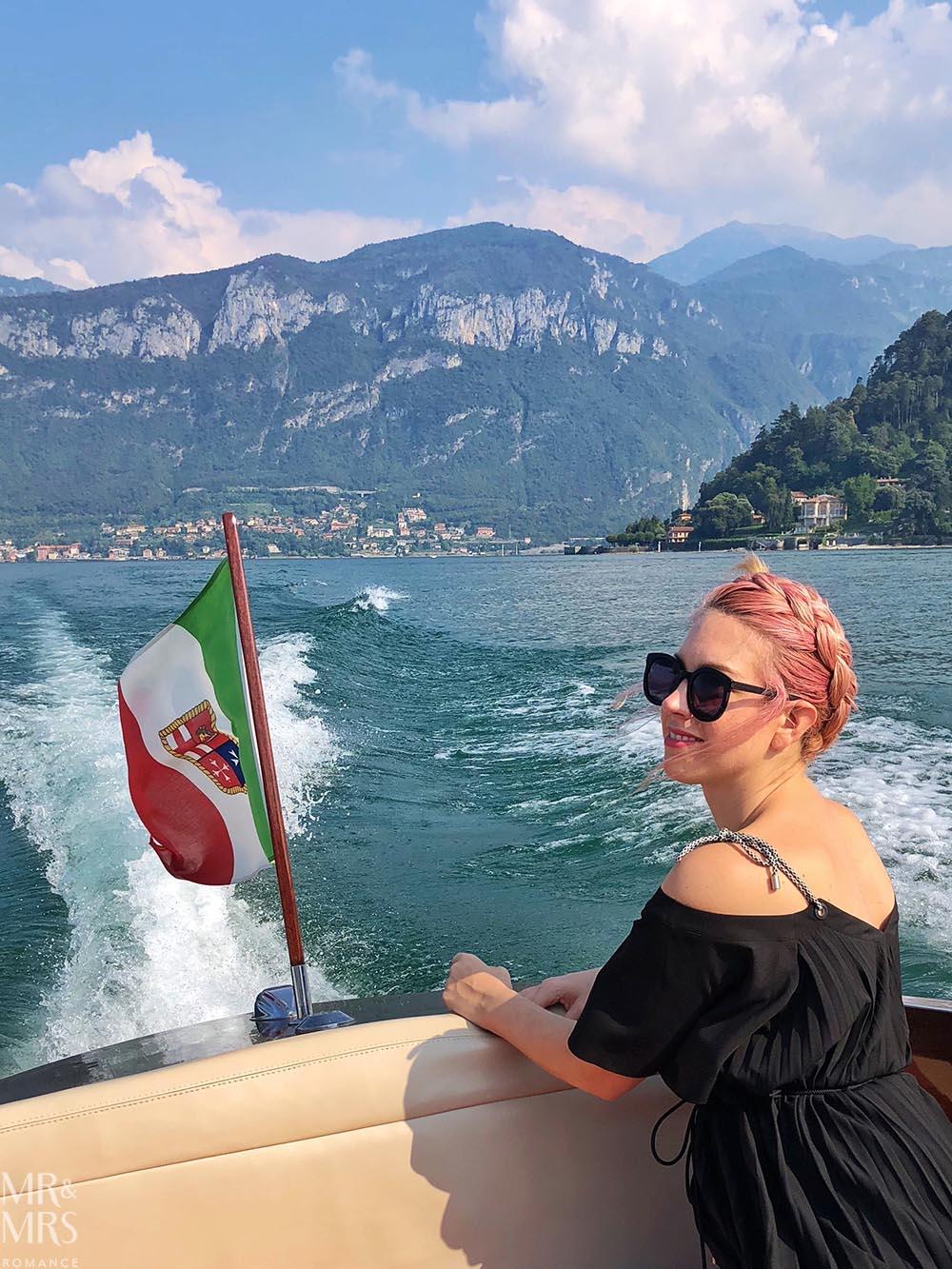 Lake Como private boat tour - Christina
