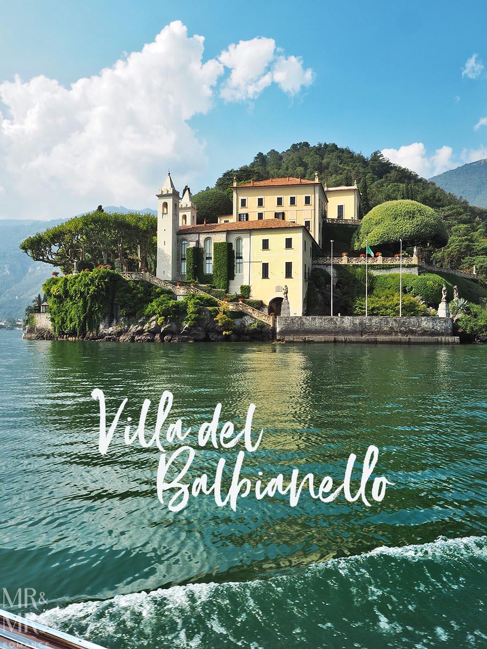 Lake Como private boat tour - Villa Balbianello