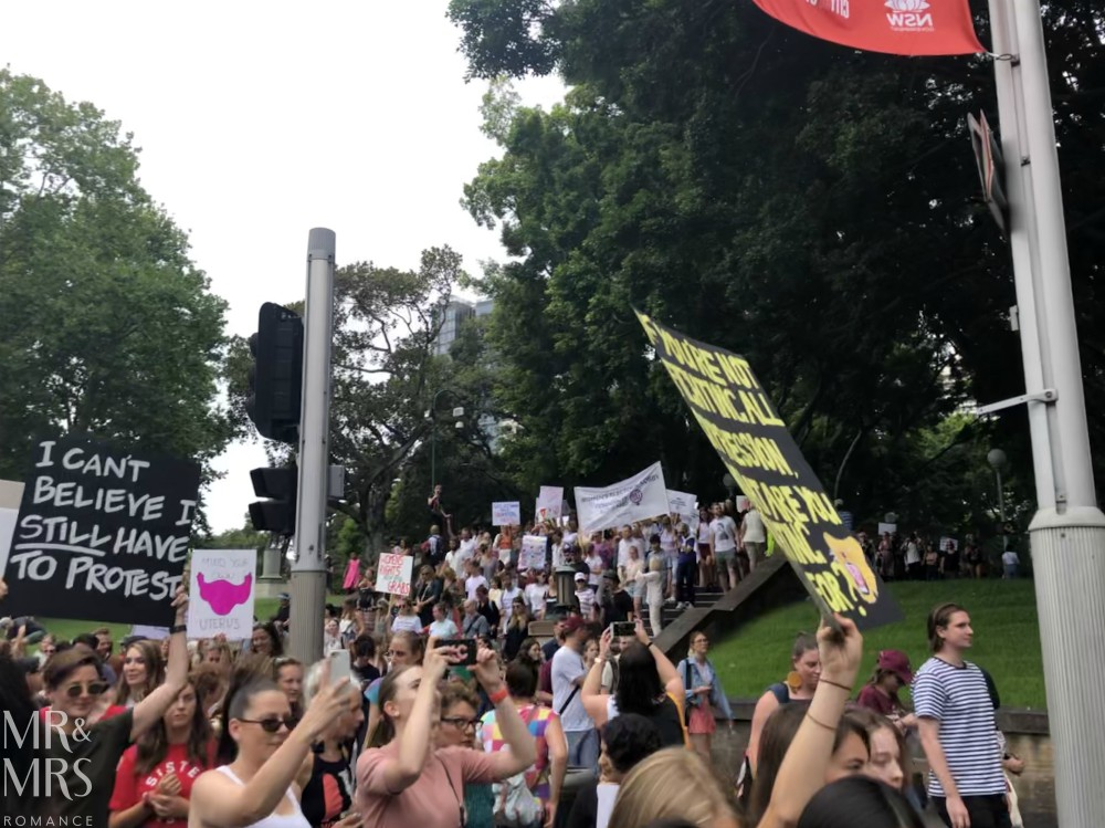 Women's March Sydney - #WomensWave