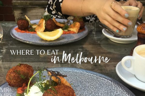 Where to eat in Melbourne - Mr & Mrs Romance
