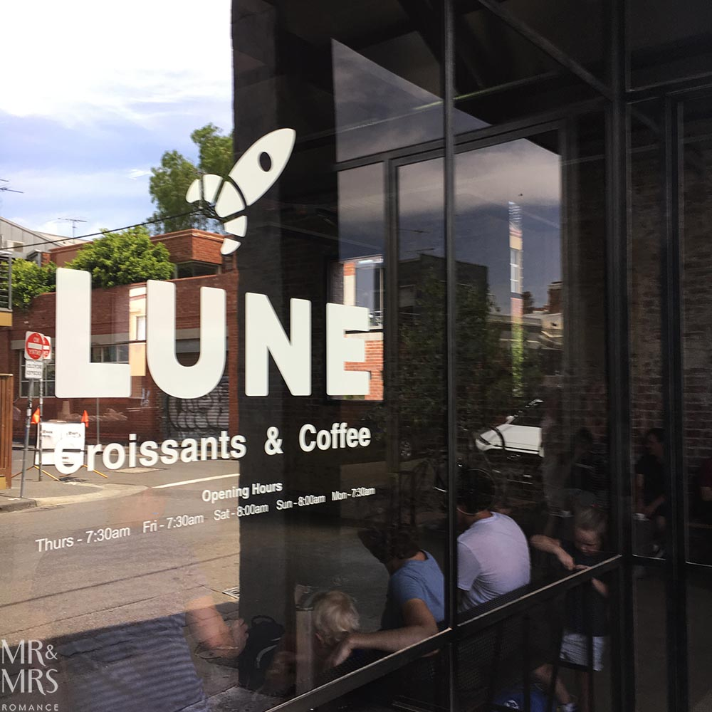 Where to eat in Melbourne - Lune Croissants