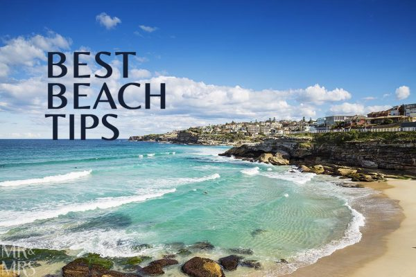 Best beach tips - Mr & Mrs Romance