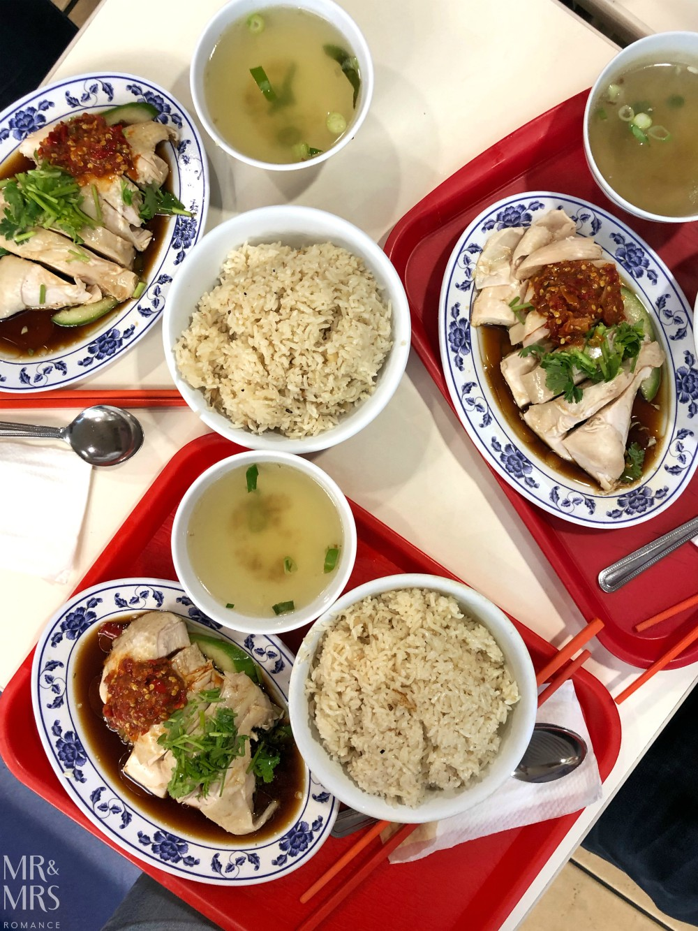 Sayong Curry and Laksa Pittsway Arcade - Hainanese chicken rice