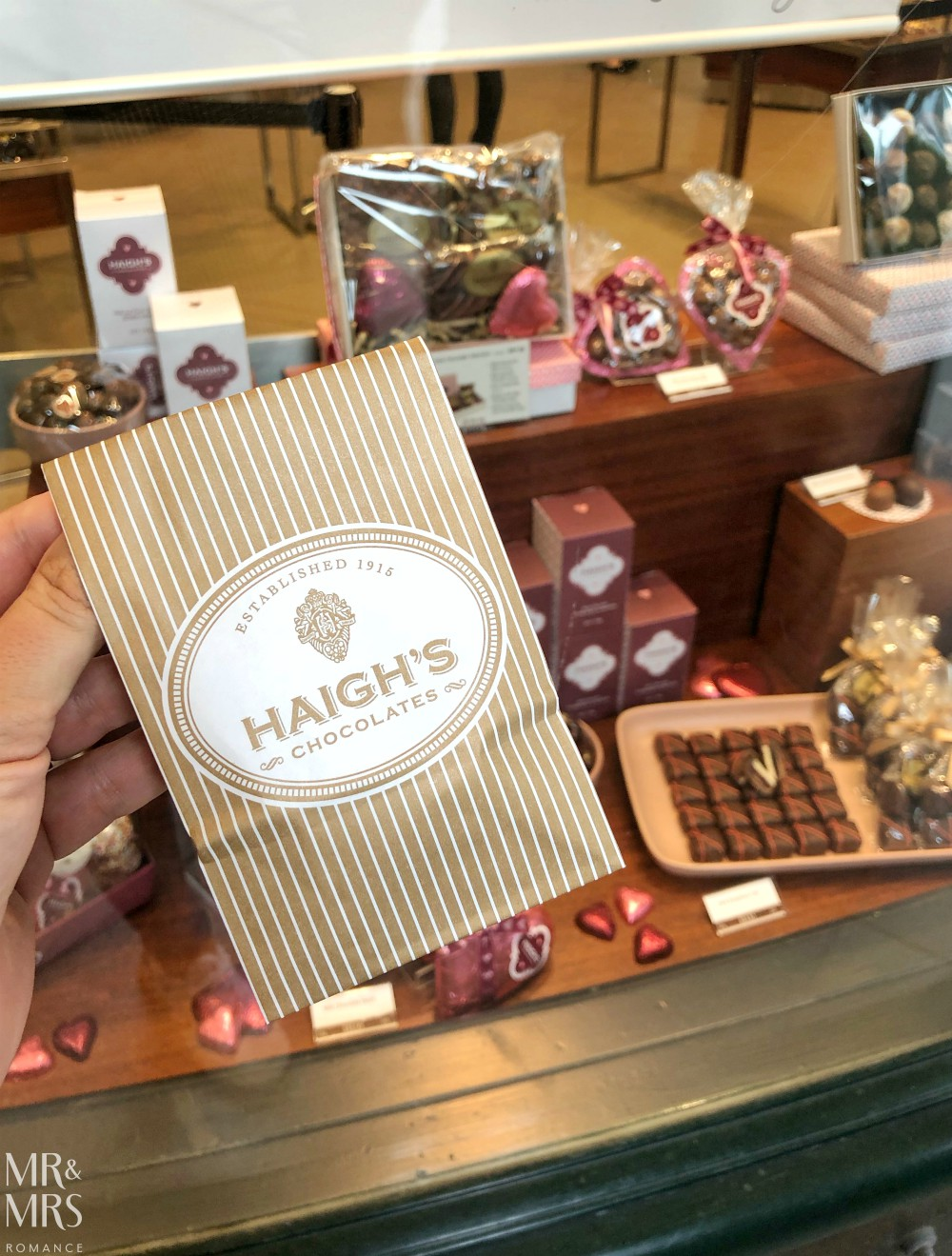 Haig's chocolates