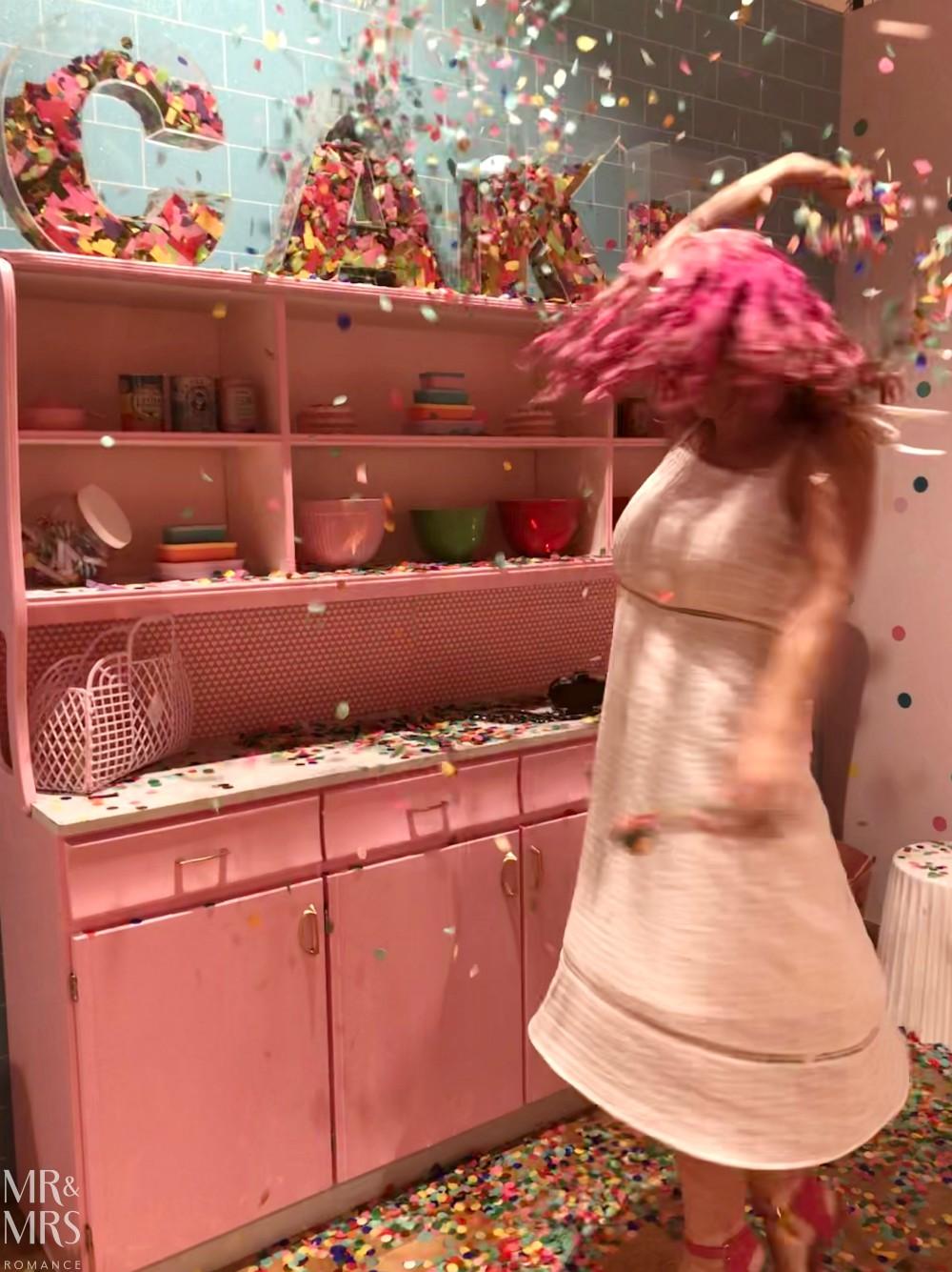 Sugar Republic, Myer Sydney - Christina cake confetti