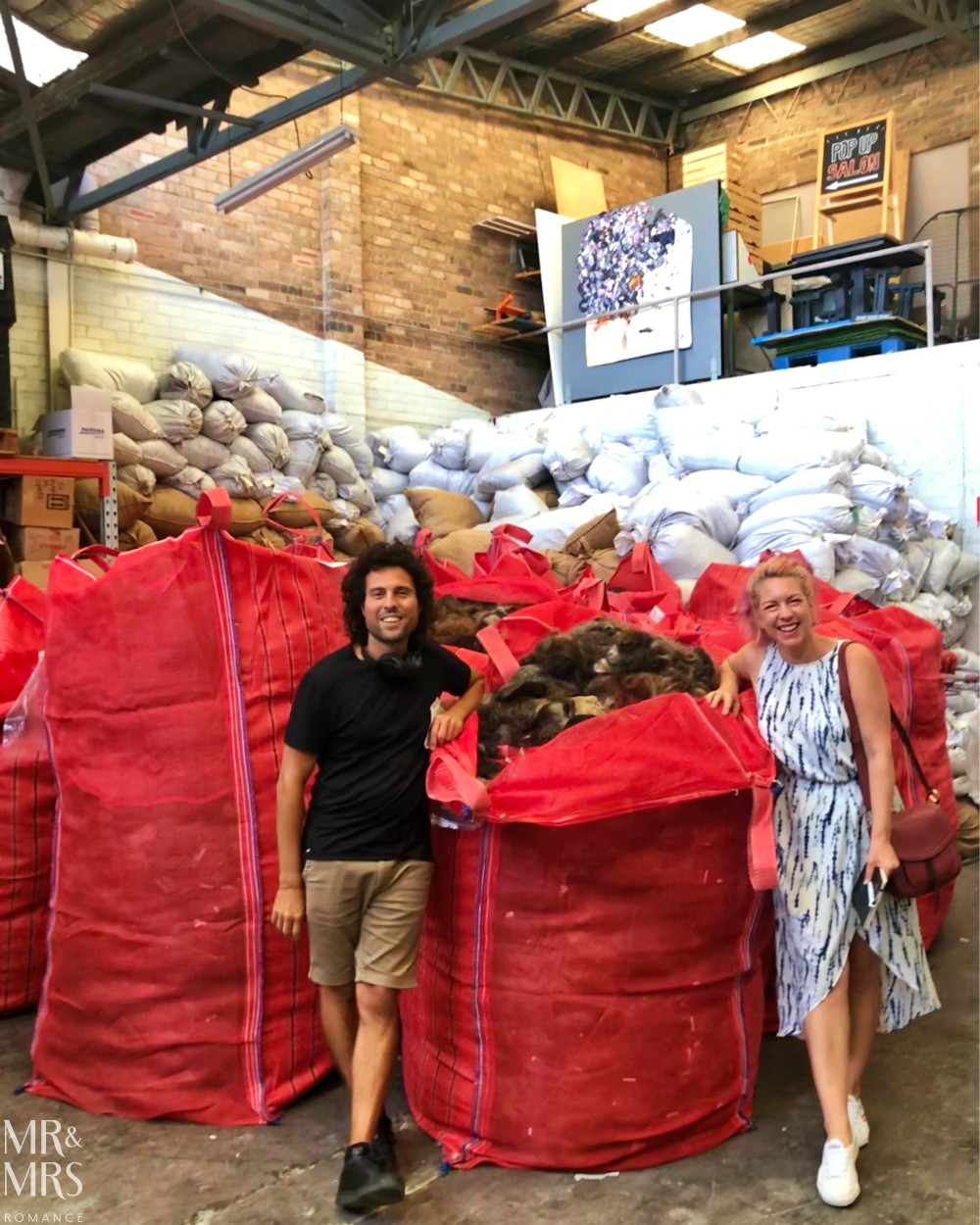 Weekly Edition - Paul Frasca and Christina at Sustainable Salons warehouse