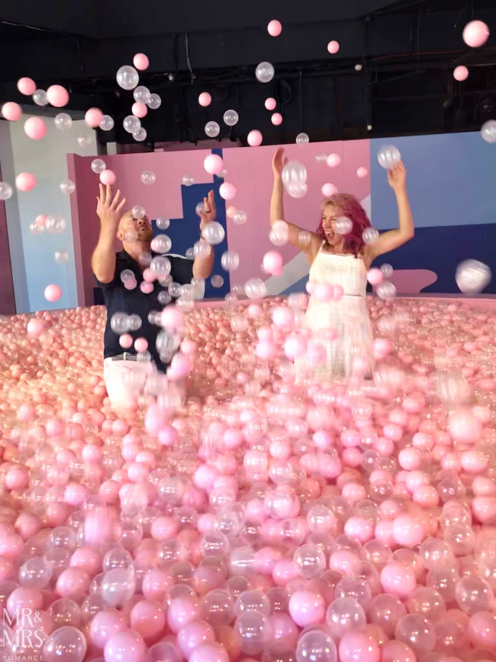 Sugar Republic, Myer Sydney - ball pit