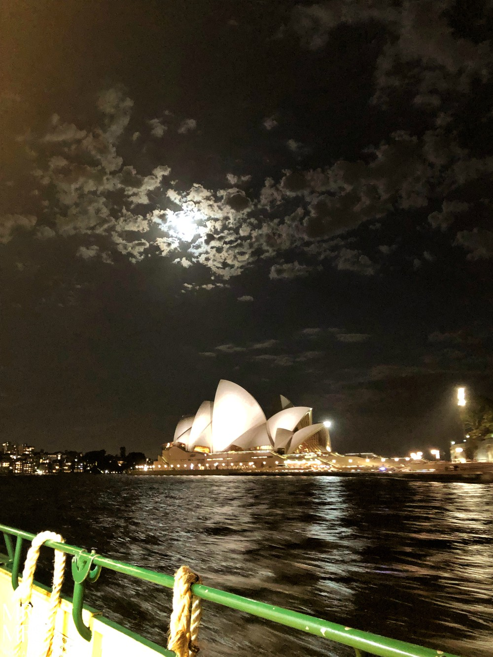 Weekly Edition - Sydney Opera House and the moon