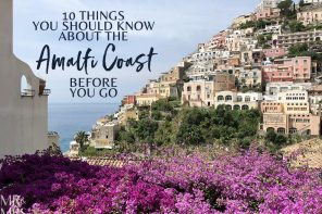 10 things you should know about the Amalfi Coast before you go