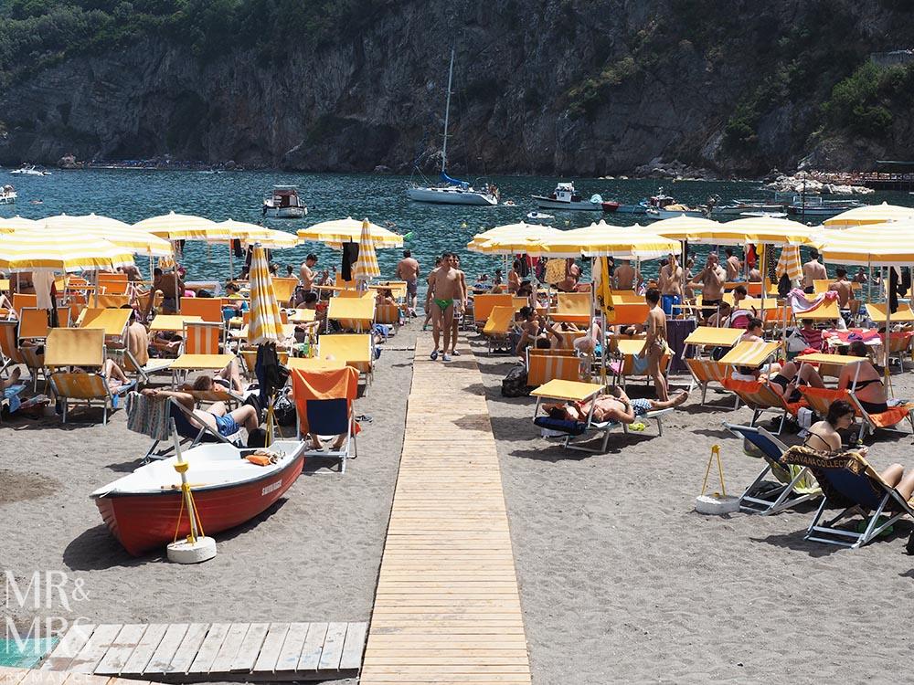 Vico Equense beach