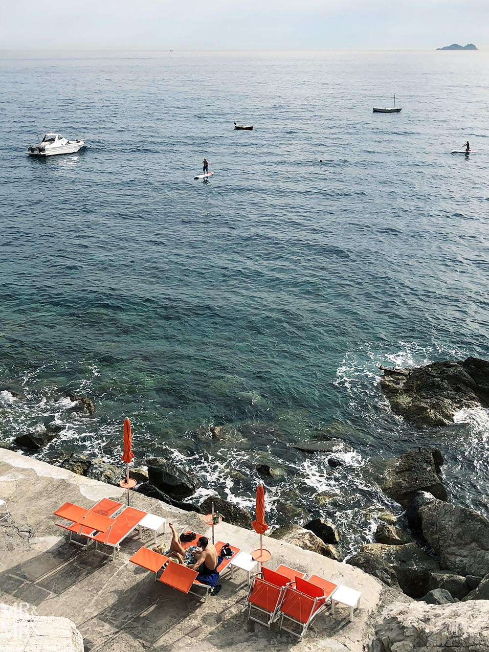 Praiano beach Amalfi Coast