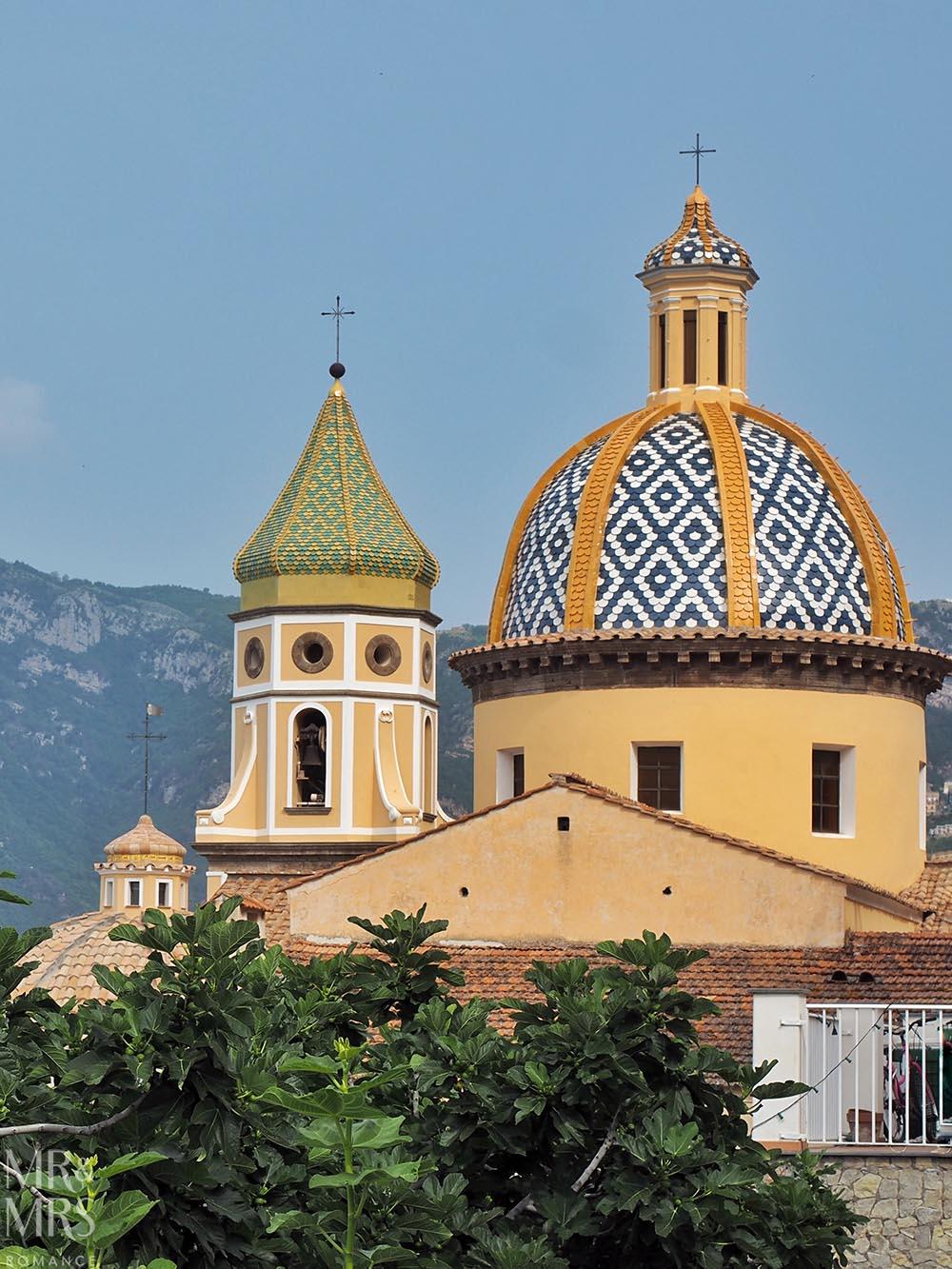 Praiano Duomo Cathedral Amalfi Coast