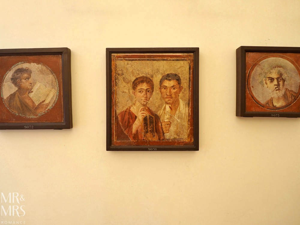 Hotel Piazza Bellini - Naples Archaeological Museum - Pompeii portraits