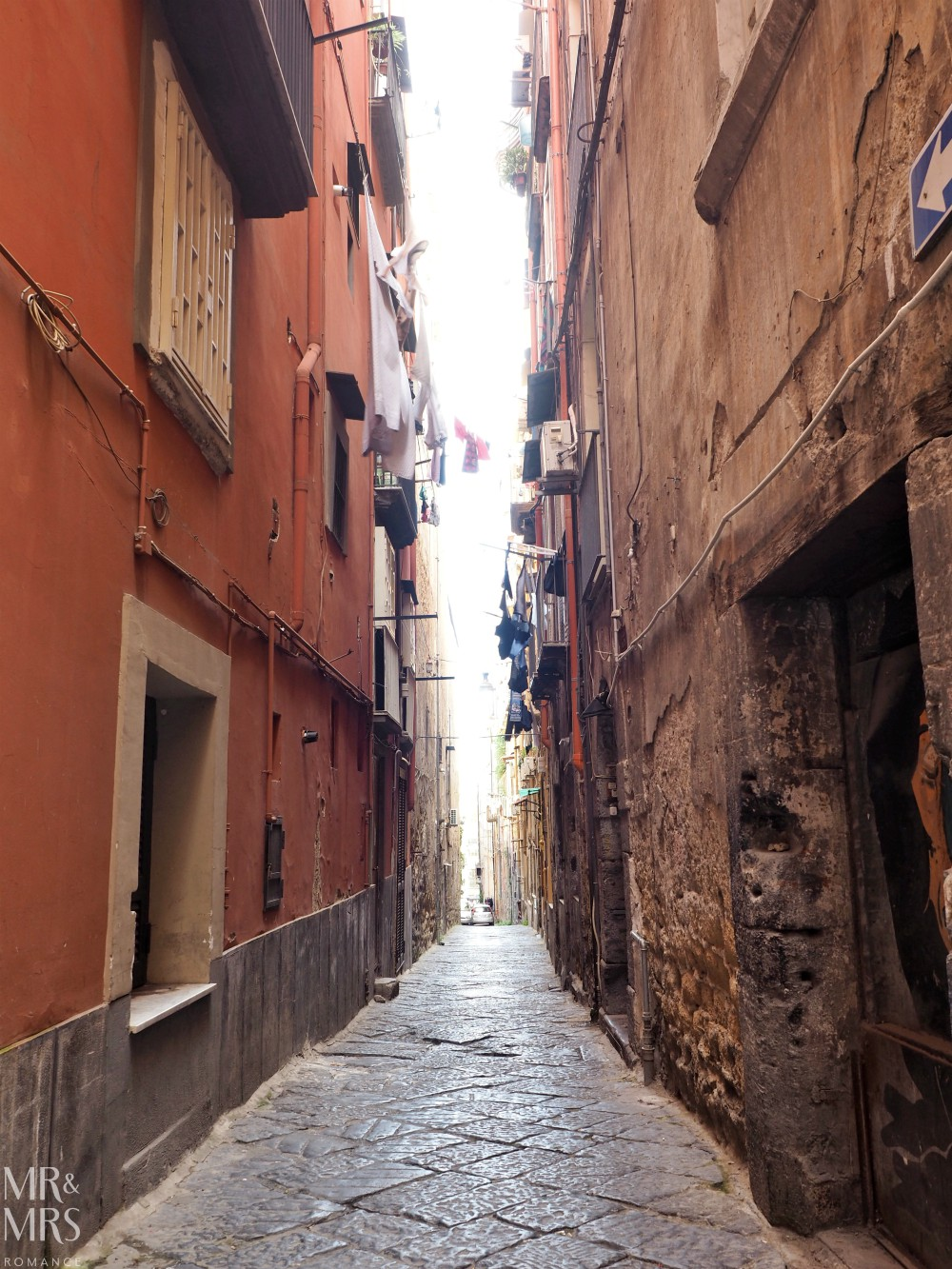 Hotel Piazza Bellini review - Naples alleyway