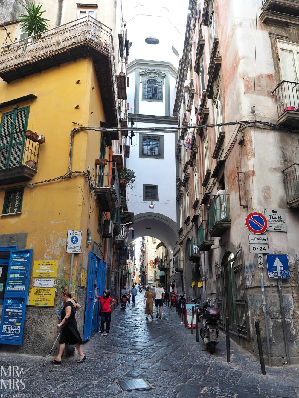 Hotel Piazza Bellini review - street scene