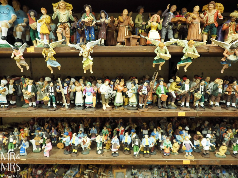 Hotel Piazza Bellini review - Christmas Street figurines