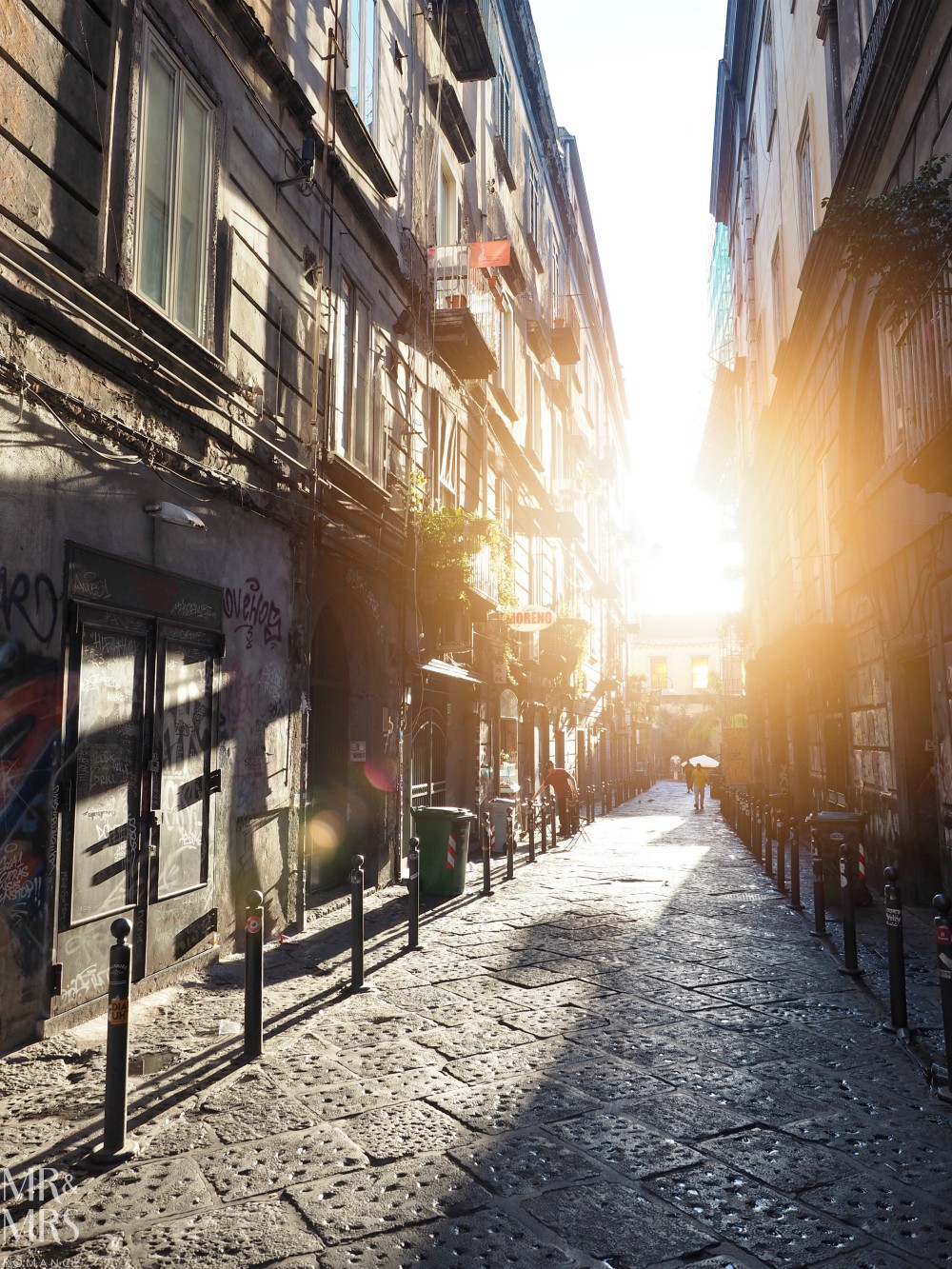 Hotel Piazza Bellini review - Naples street with beautiful light