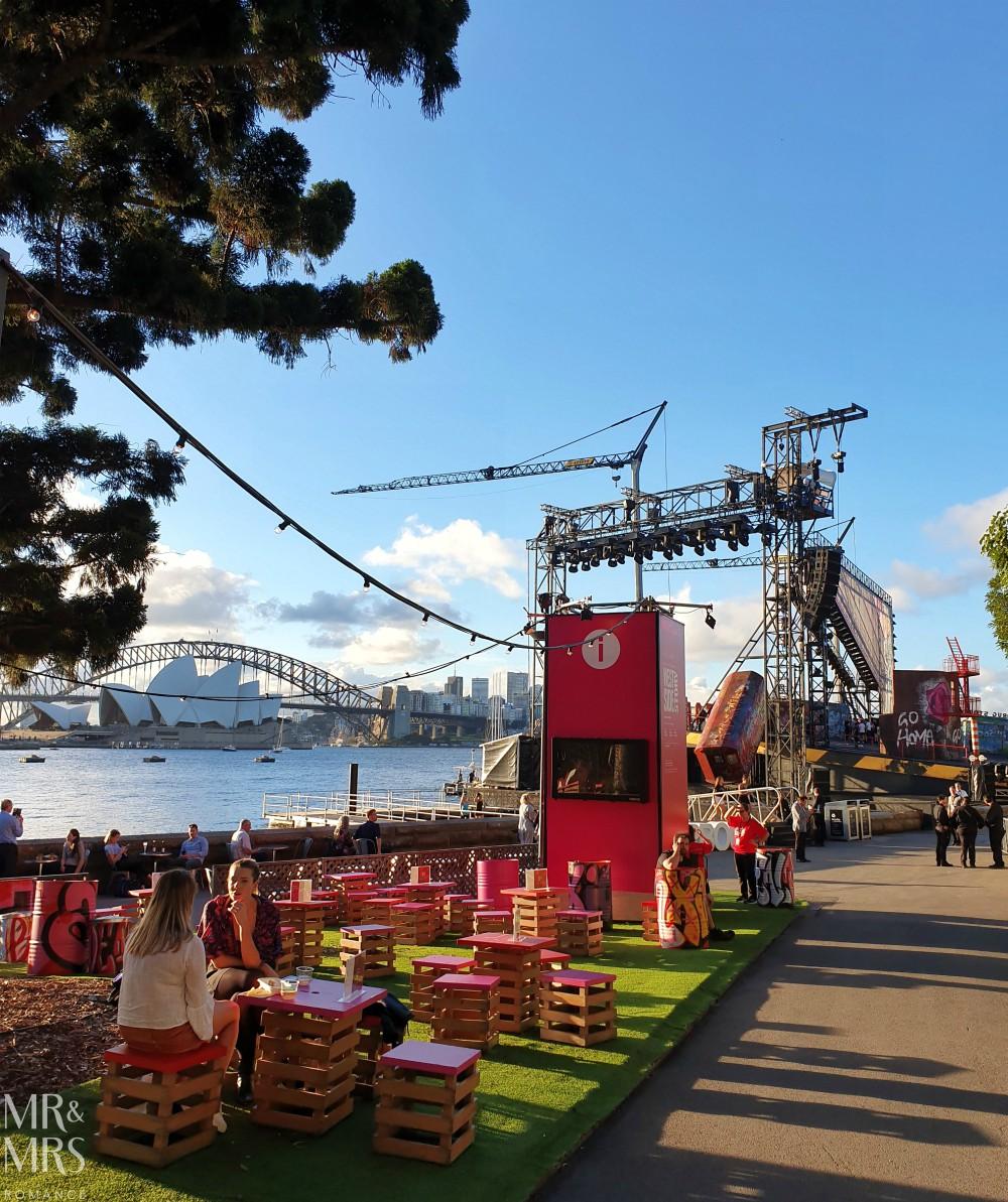 Opera Australia Handa Opera on Sydney Harbour - West Side Story - Qantas Garden Bar