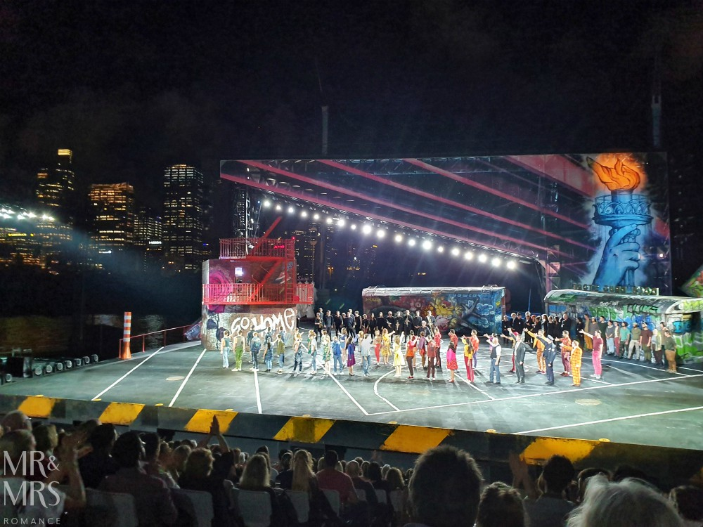 Opera Australia Handa Opera on Sydney Harbour - West Side Story - cast and crew
