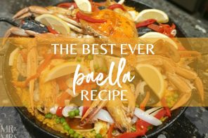 How to make traditional seafood paella