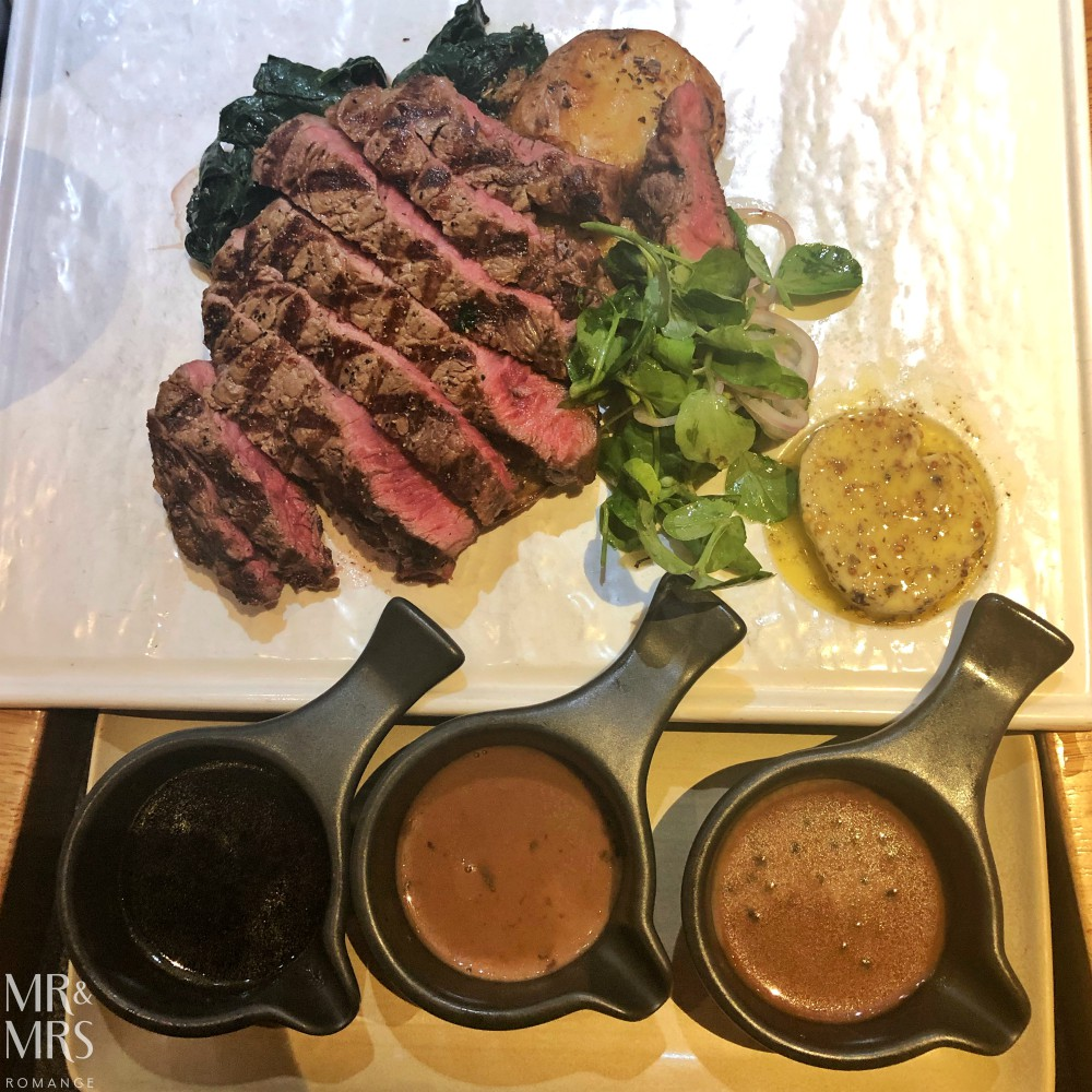 Where to eat in Sydney, Australia - The Ternary 300g scotch fillet