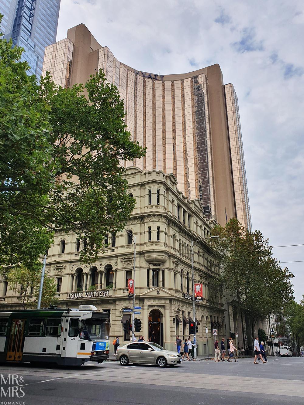 Melbourne street scene